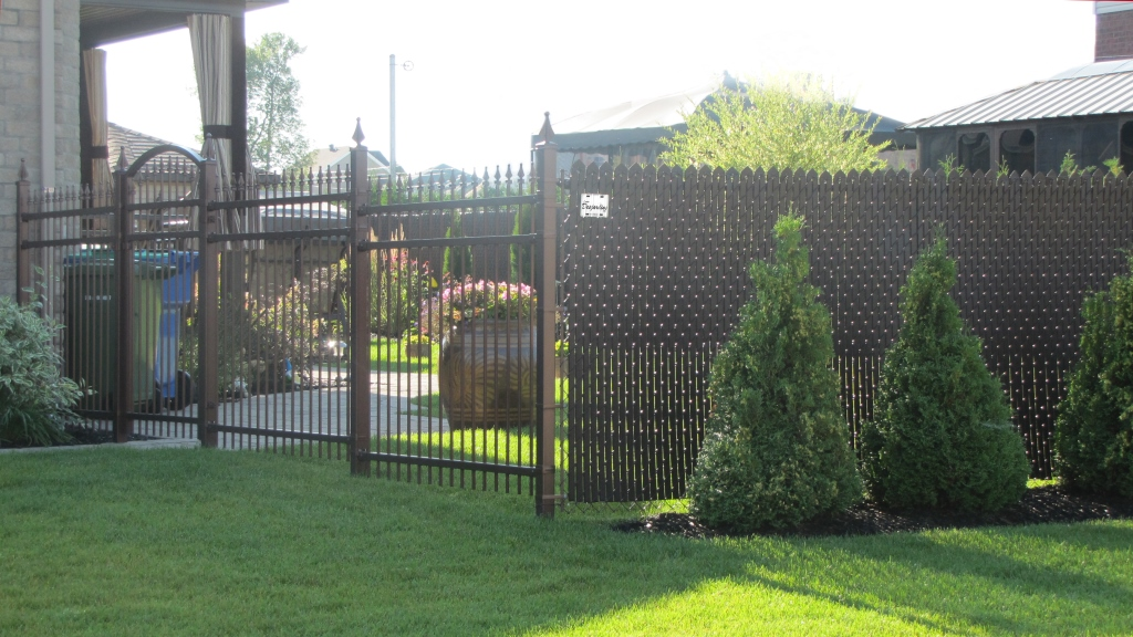 nice combination fence