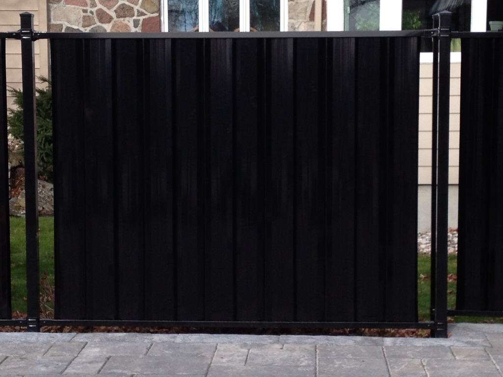 full panel fences
